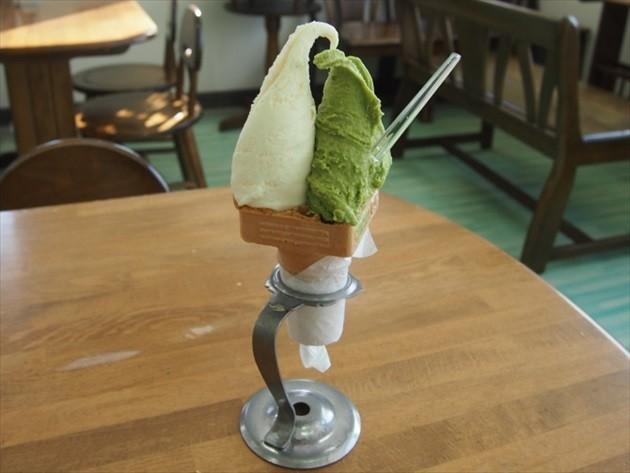 てしかが町期間限定ソフトクリーム