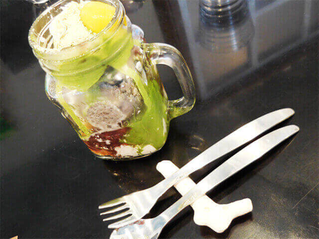 Kura café ジャンボパフェ