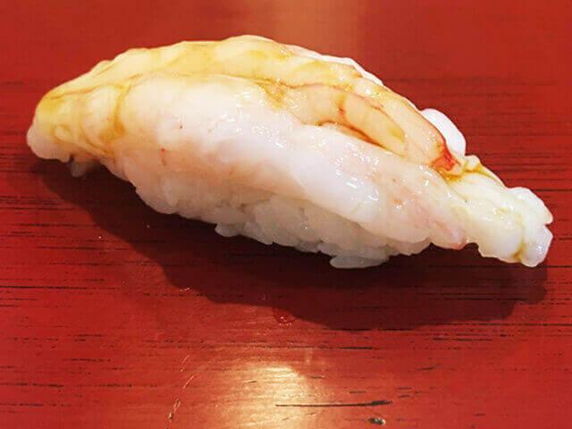 甘エビのお寿司