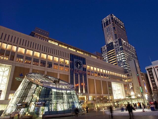 札幌駅 夜景