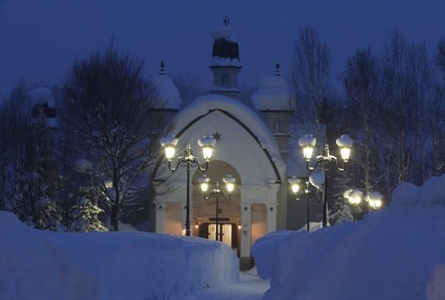 北海道の雪の教会 イメージ