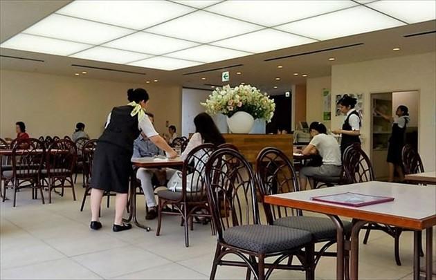 六花亭直営のカフェ