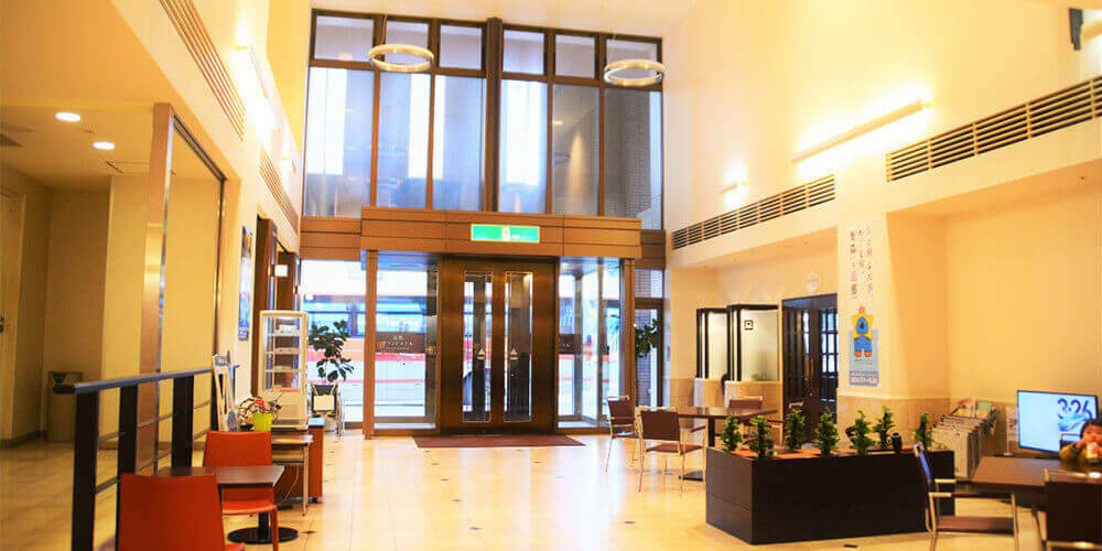 函館グランドホテル ロビー