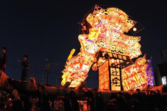 沼田町夜高あんどん祭り