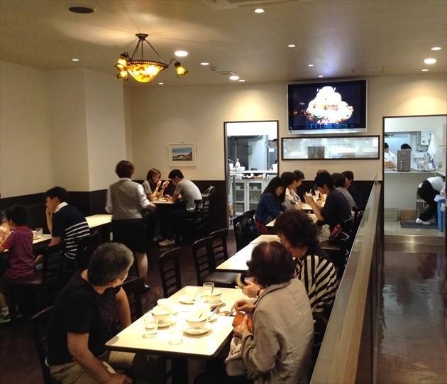 雪印パーラー 2階 喫茶レストラン内