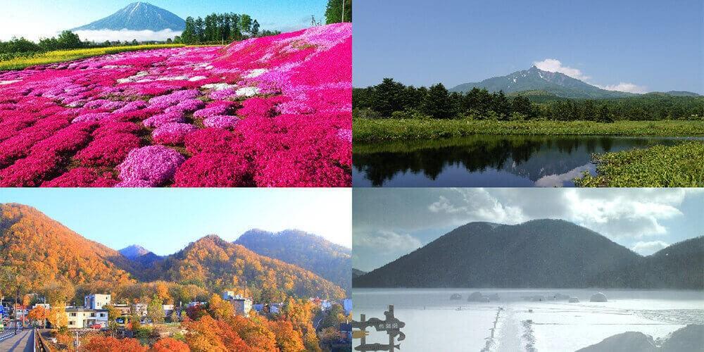 春夏秋冬、北海道に行くならこんな旅!時期ごとにおすすめの旅