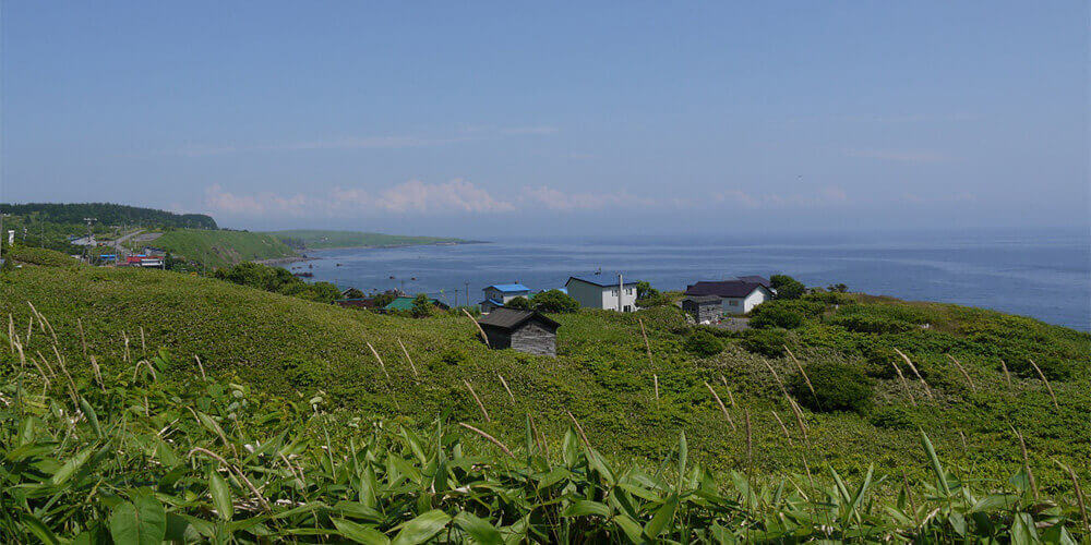 北海道 夏の風景