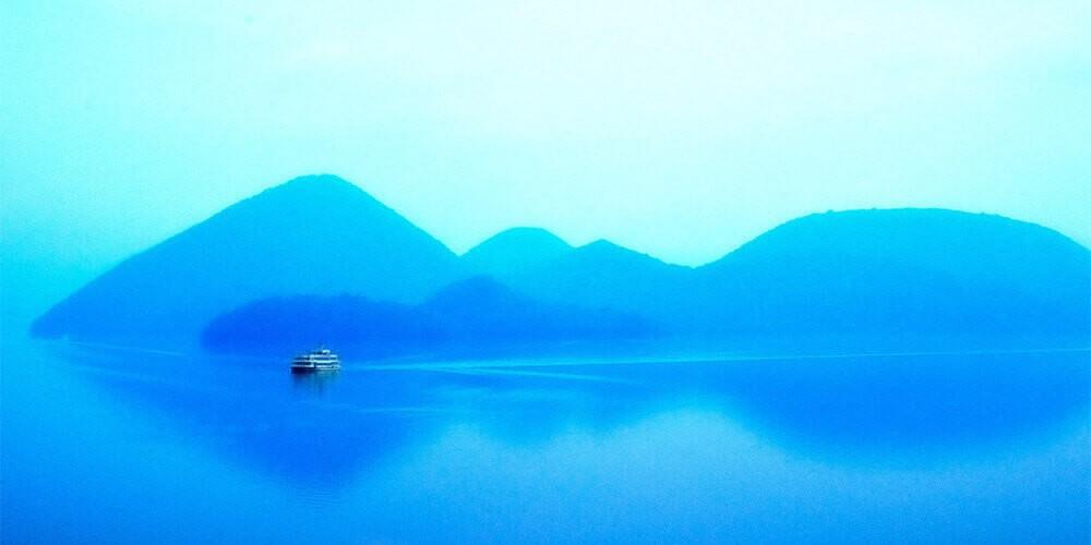 洞爺湖・羊蹄山