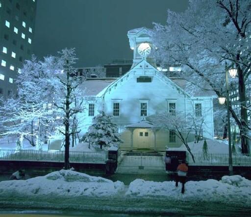札幌市時計台 冬の外観イメージ