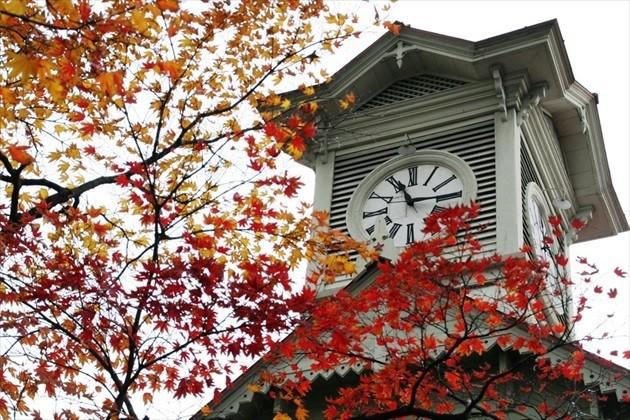 札幌市時計台 秋の外観イメージ