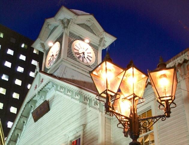 札幌市時計台 ライトアップイメージ