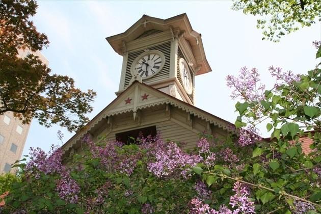 札幌市時計台 春の外観イメージ