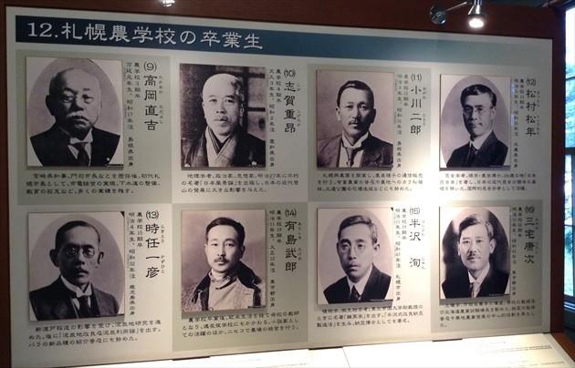 札幌市時計台 1階 大展示室