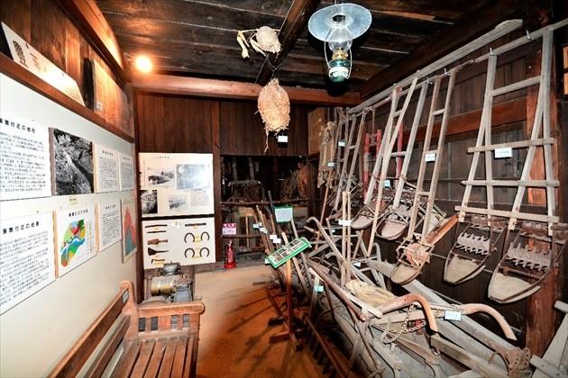 旧黒岩家住宅(旧簾舞通行屋) 施設内イメージ