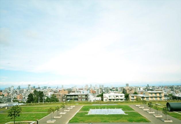 札幌市水道記念館 敷地内
