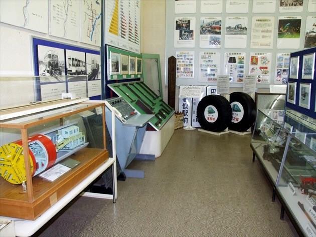 札幌市交通資料館 施設内イメージ