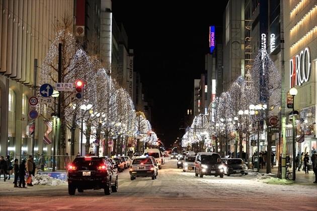 北海道 冬のイメージ