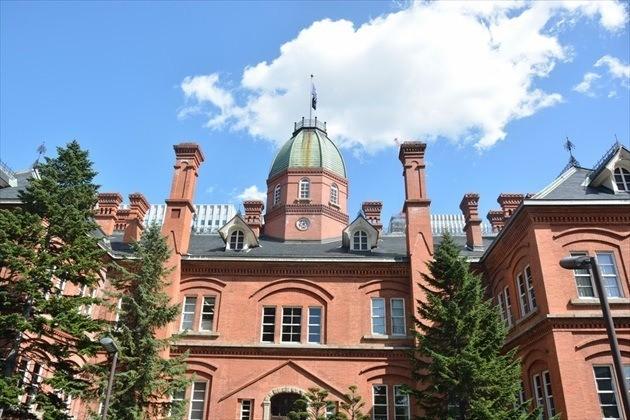 北海道庁旧本庁舎 後ろ姿外観イメージ