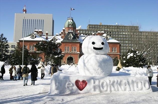 北海道庁旧本庁舎 冬