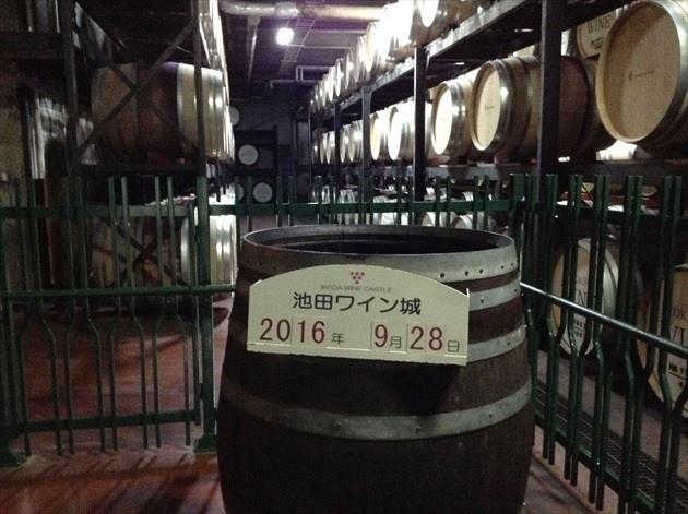 池田ワイン城 ガイドツアー