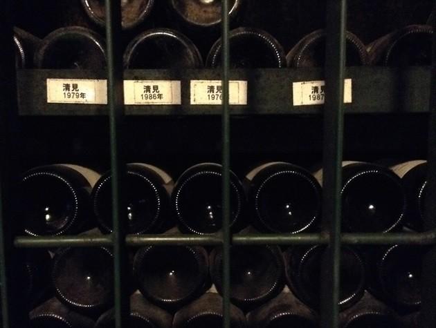 池田ワイン城 年代物のワイン