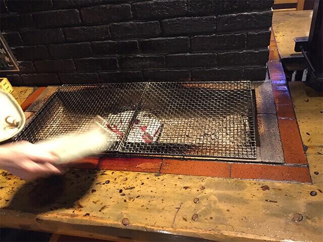 炉ばた煉瓦 網