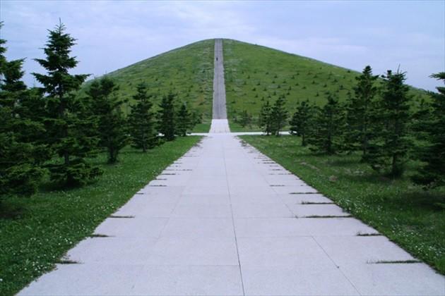 モエレ公園 モエレ山