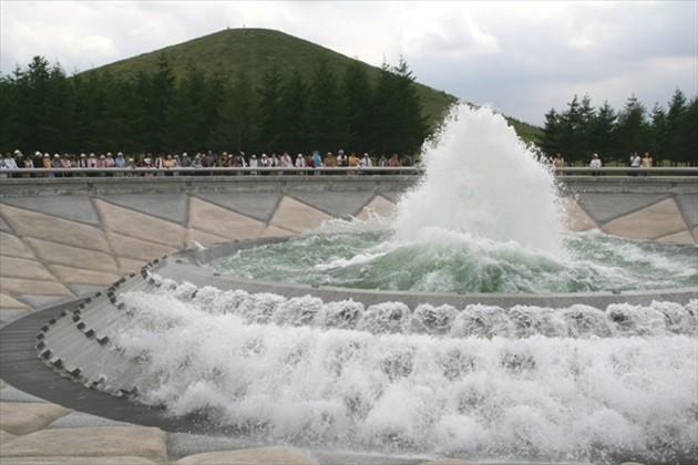 モエレ公園 海の噴水