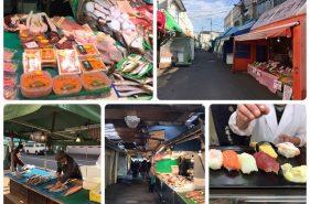 函館市民の台所!市場「中島廉売」でツウなお買い物♪