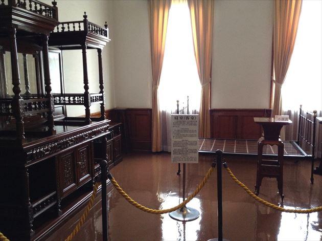 旧函館区公会堂 寝室