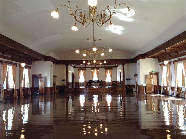 旧函館区公会堂 2階の大広間