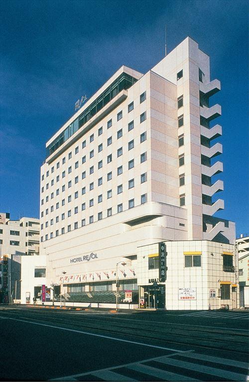 ホテルリソル函館外観イメージ