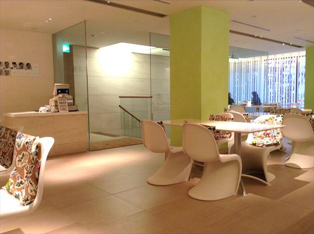 六花亭 帯広本店 喫茶室 店内イメージ