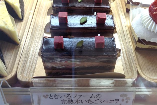 十勝トテッポ工房ときいろファームの完熟木いちごショコラ