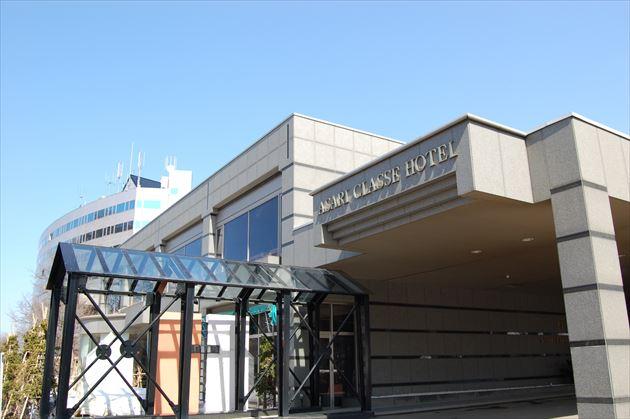 小樽朝里クラッセホテル外観