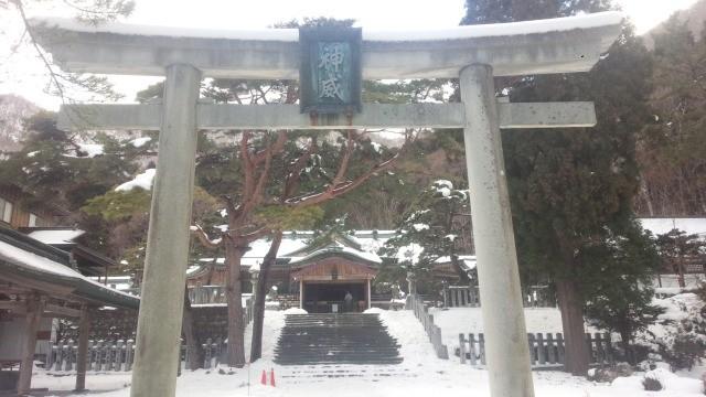 函館八幡宮鳥居