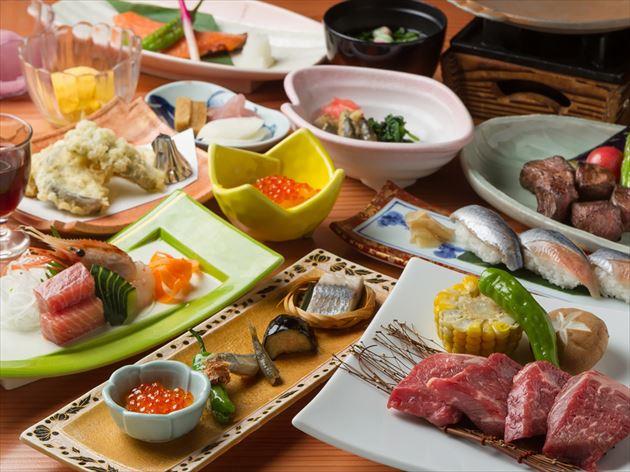 ホテル大平原料理イメージ