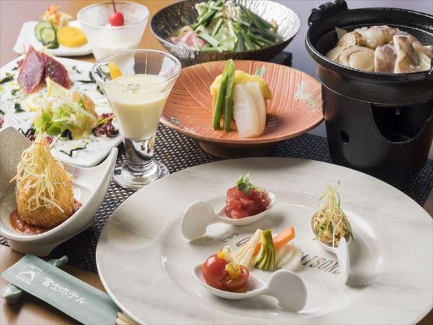富士ホテル夕食イメージ