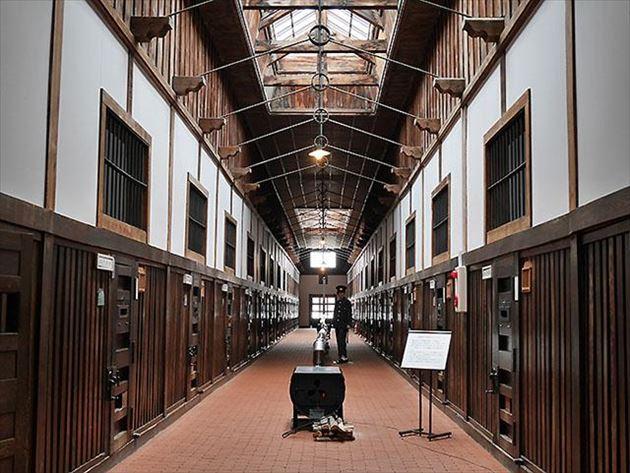 旧網走刑務所 舎房及び中央見張所