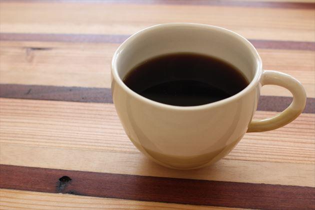 セットメニューのコーヒー