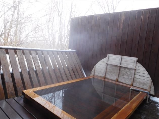 高島旅館 露天風呂