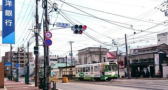 十字街の電停