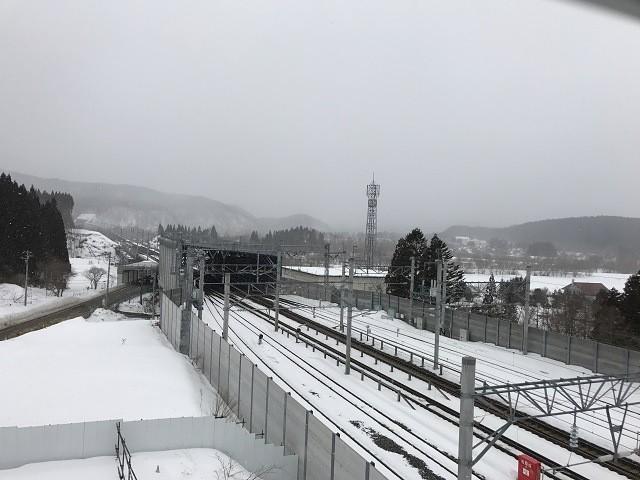 新幹線展望塔からの景色①