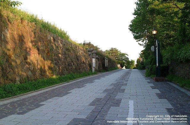 A street in Hakodate's western district