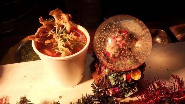 クリスマスファンタジーのスープ