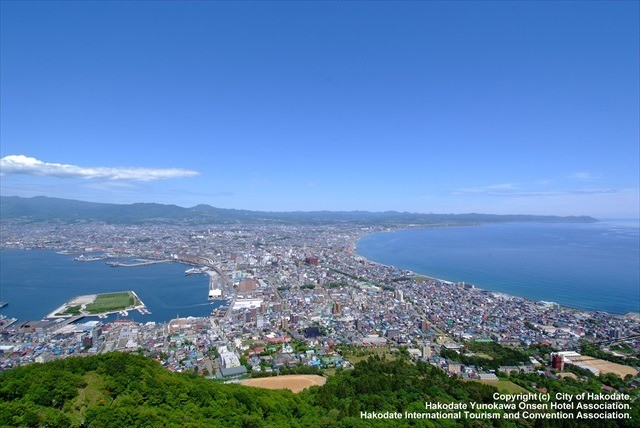 Sight from Mt Hakodate