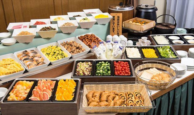藤田観光ワシントンホテル旭川 朝食