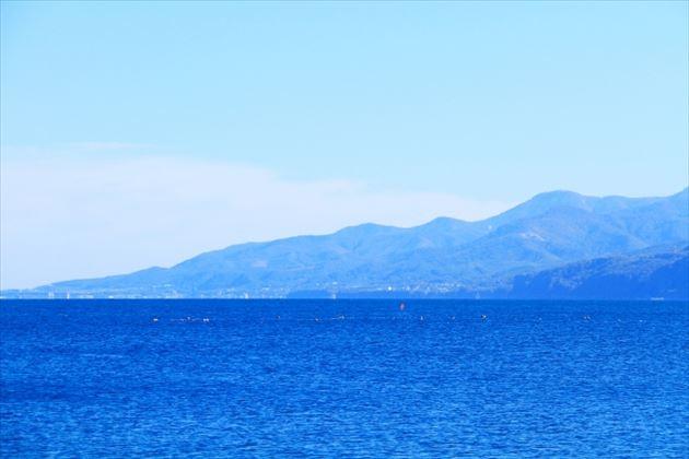 石狩湾の蜃気楼