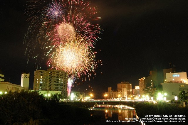 Hakodate fireworks