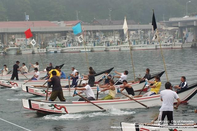 南かやべひろめ舟祭り